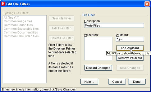 directory printer free download